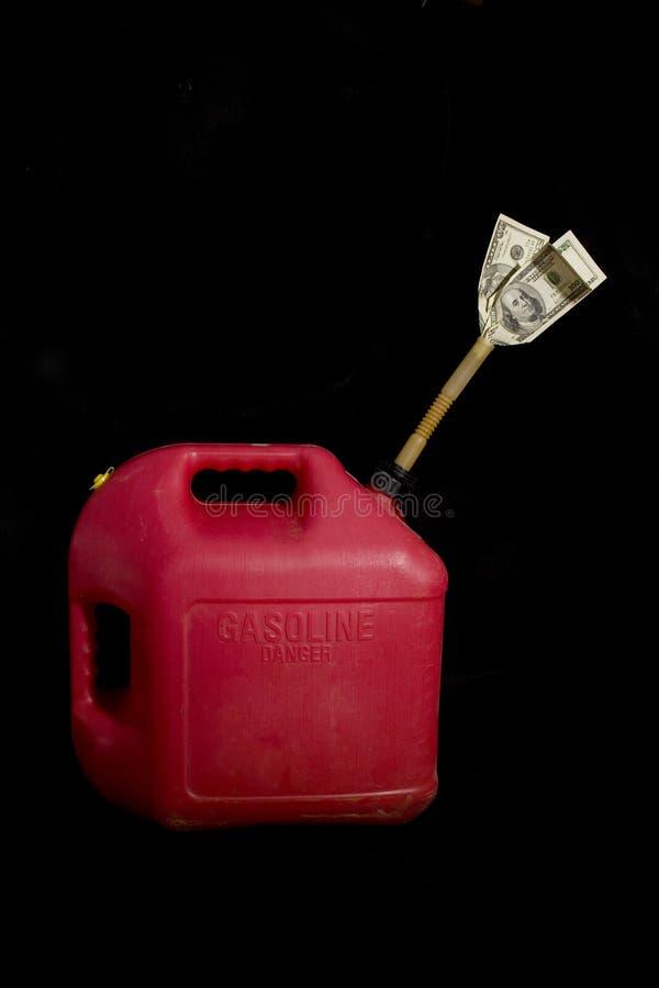 De prijs van de benzine royalty-vrije stock foto