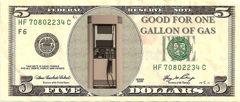 De prijscrisis van het gas stock foto's