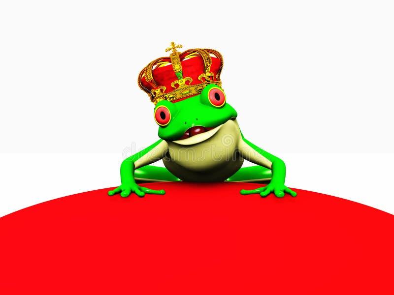 Kikkerprins royalty-vrije stock afbeelding