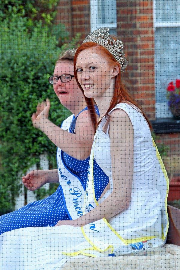 De prinsessen Carnaval van Dover stock fotografie