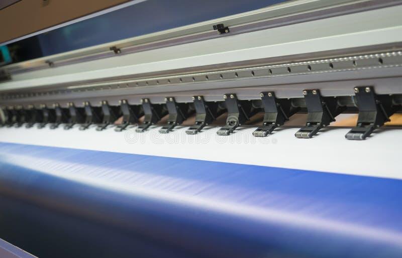 De printer van breed-formaatinkjet stock fotografie
