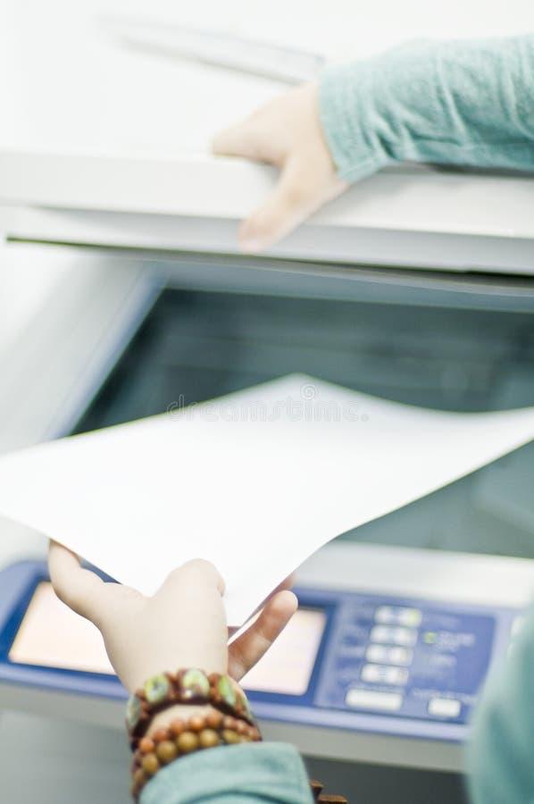 De printer van de fax royalty-vrije stock foto's