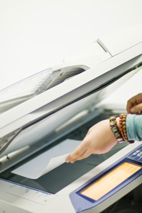 De printer van de fax royalty-vrije stock fotografie