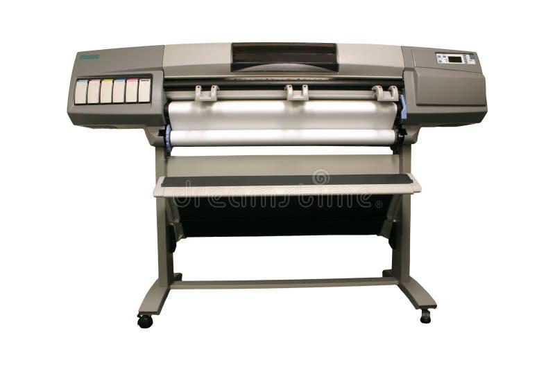 De Printer van het grote Formaat royalty-vrije stock afbeeldingen