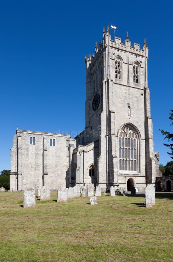 De Priorij van Christchurch stock afbeelding