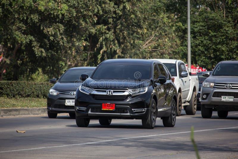 De privé Auto van de Stadssuv van Autohonda CRV royalty-vrije stock afbeeldingen