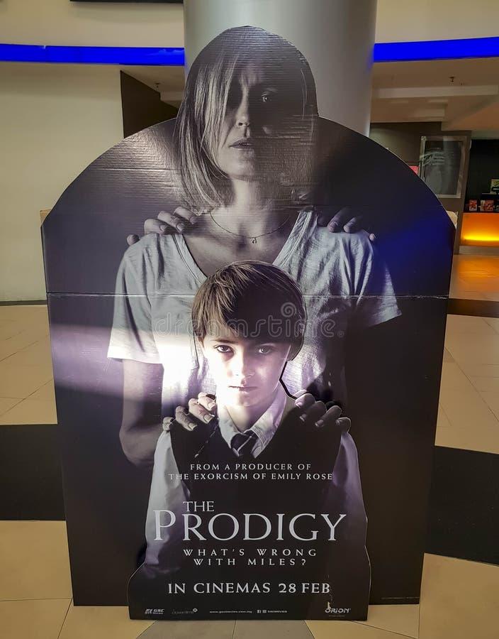De Prodigy-filmaffiche stock foto