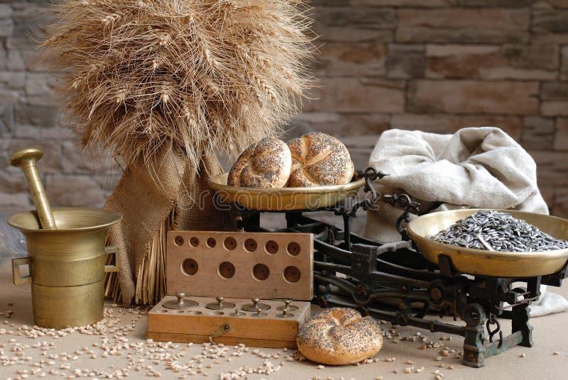 De producten van de landbouw royalty-vrije stock afbeelding