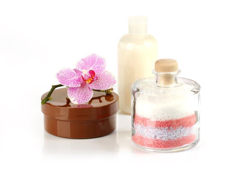 De producten van de lichaamsverzorging stock foto