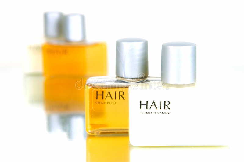 De Producten van het haar en van het Lichaam royalty-vrije stock afbeeldingen
