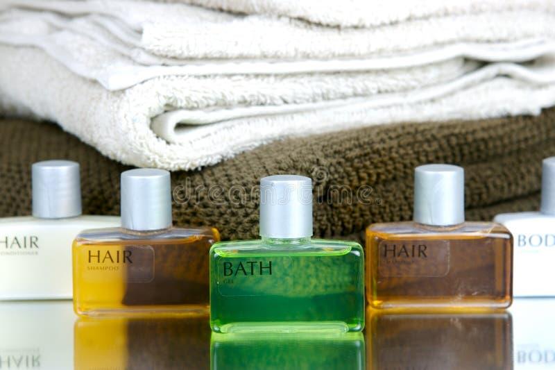 De Producten van het haar en van het Lichaam stock afbeelding