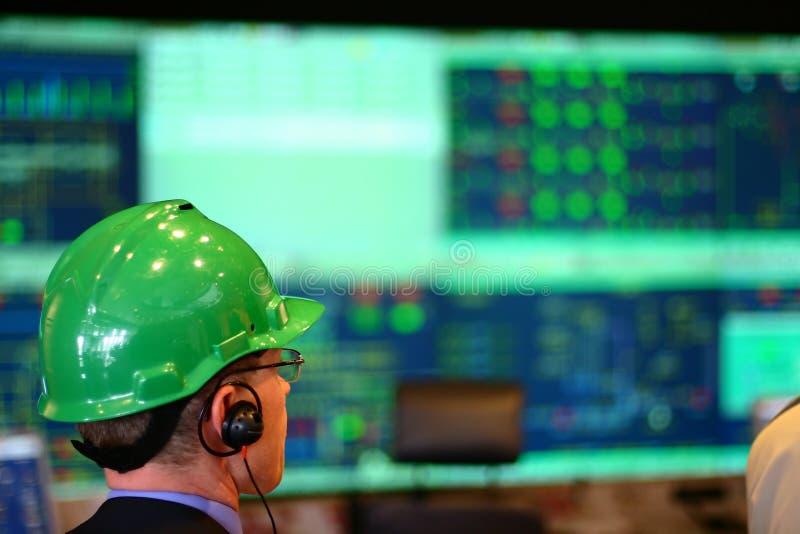 De productie van de elektriciteit royalty-vrije stock afbeeldingen