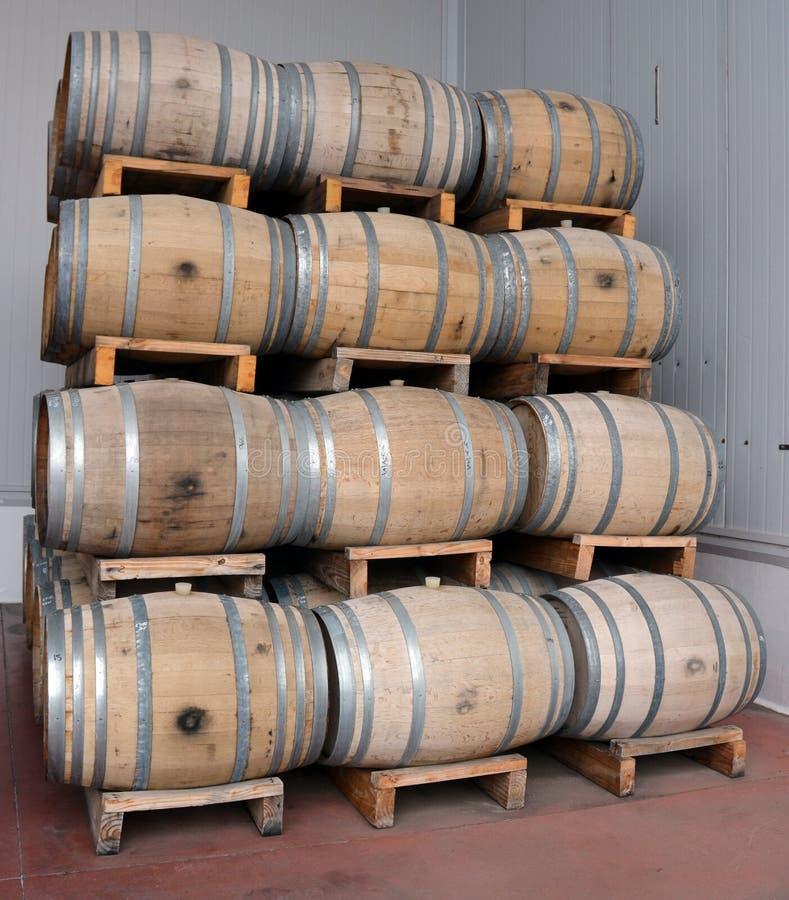 De productie van de wijn royalty-vrije stock foto