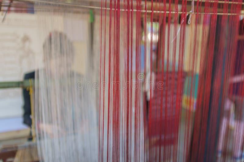 De Productie van de zijdekleding royalty-vrije stock foto's