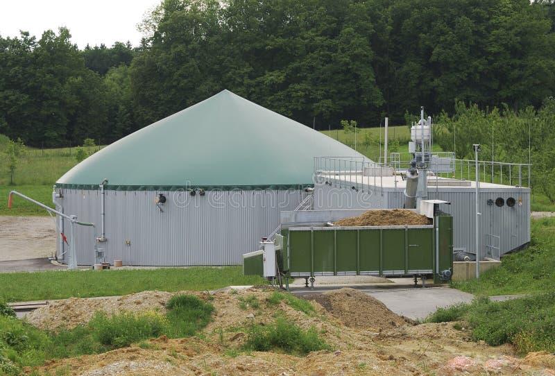 De productie van het biogas royalty-vrije stock foto's