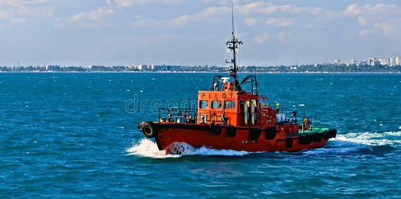 De proefboot helpt Waterredding royalty-vrije stock foto