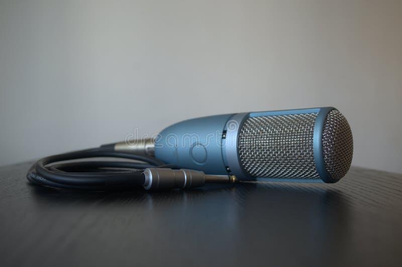 De professionele vacuümmicrofoon van de buisstudio stock afbeeldingen