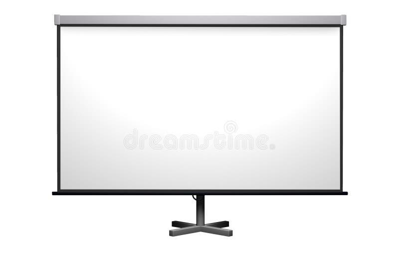 De projector van het scherm stock foto
