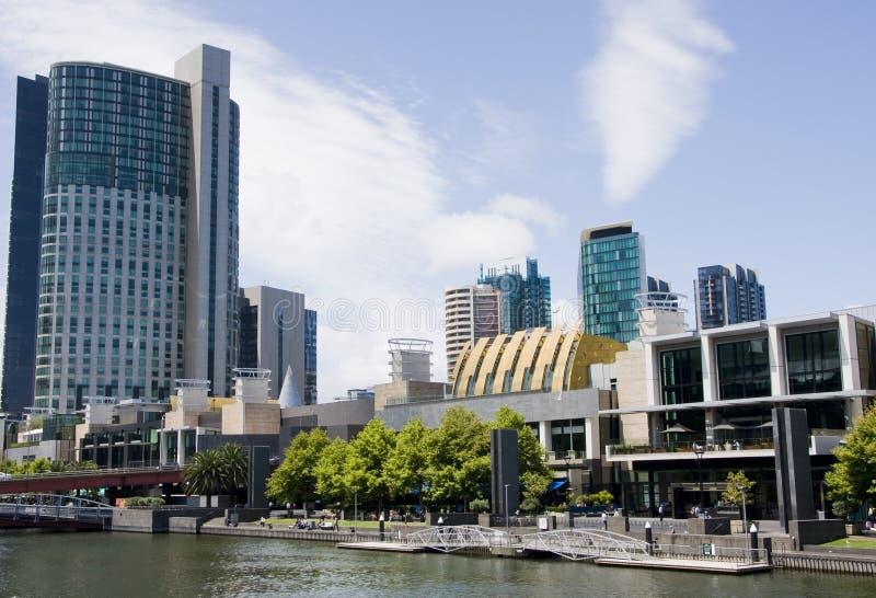 De promenade van Melbourne stock foto's