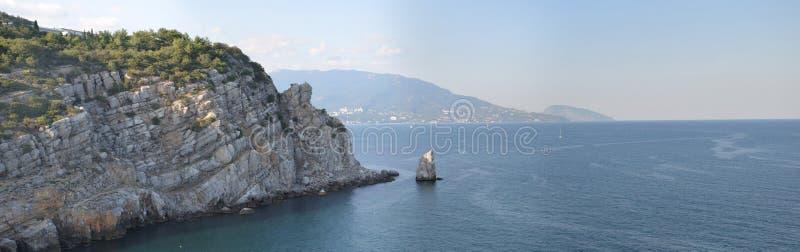 De promenade van Yalta stock fotografie