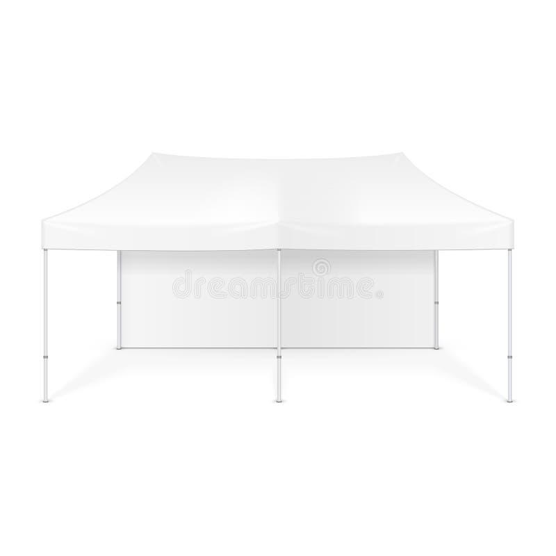 De promotiehandel van de Reclame Openluchtgebeurtenis toont Pop-Up Tent Mobiele Reclamemarkttent spot omhoog, malplaatje royalty-vrije illustratie