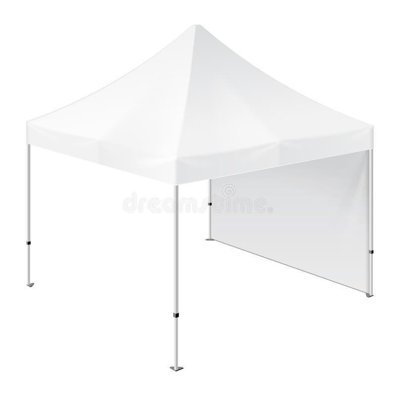 De promotiehandel van de Reclame Openluchtgebeurtenis toont Pop-Up Tent Mobiele Reclamemarkttent spot omhoog, royalty-vrije illustratie