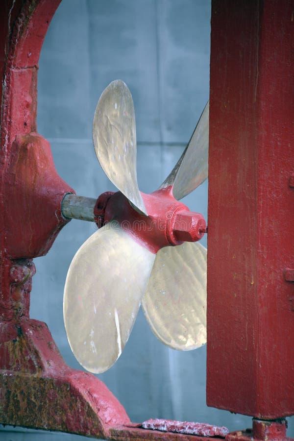 De propeller van de schroef royalty-vrije stock foto