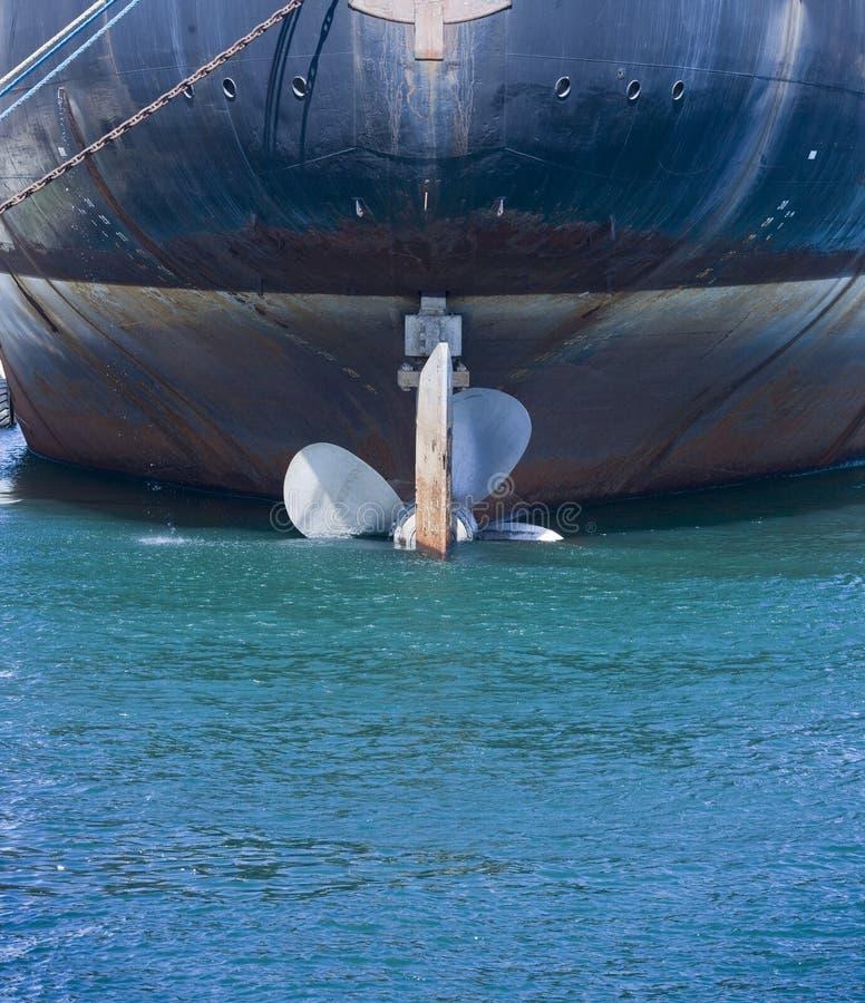 De Propeller van het schip royalty-vrije stock afbeelding