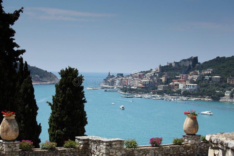 De provincie van La Spezia van Portovenere stock afbeeldingen