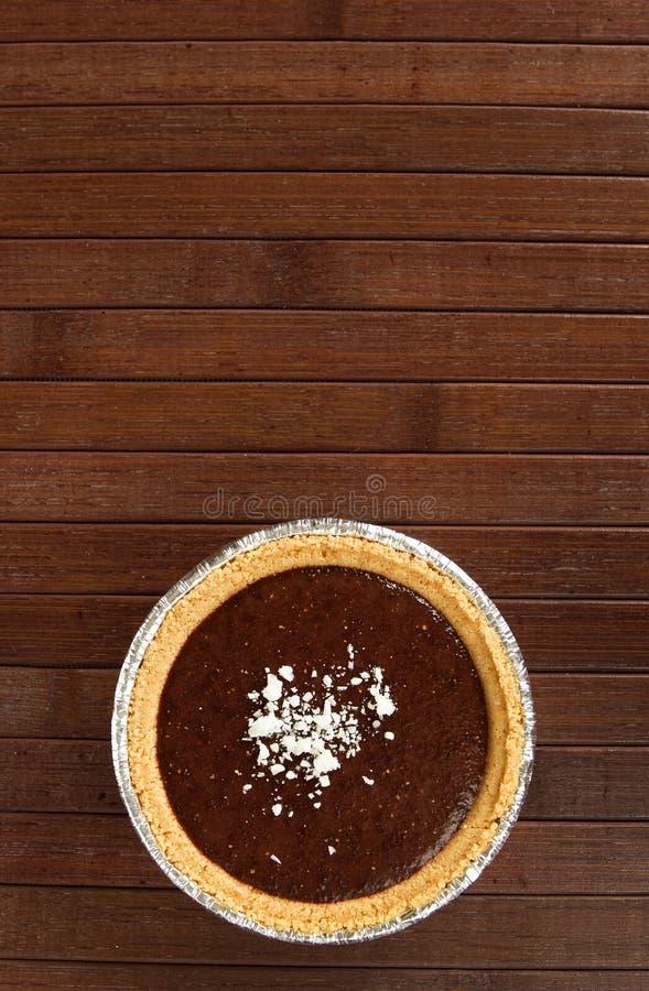 De pudding van de vanille stock afbeelding
