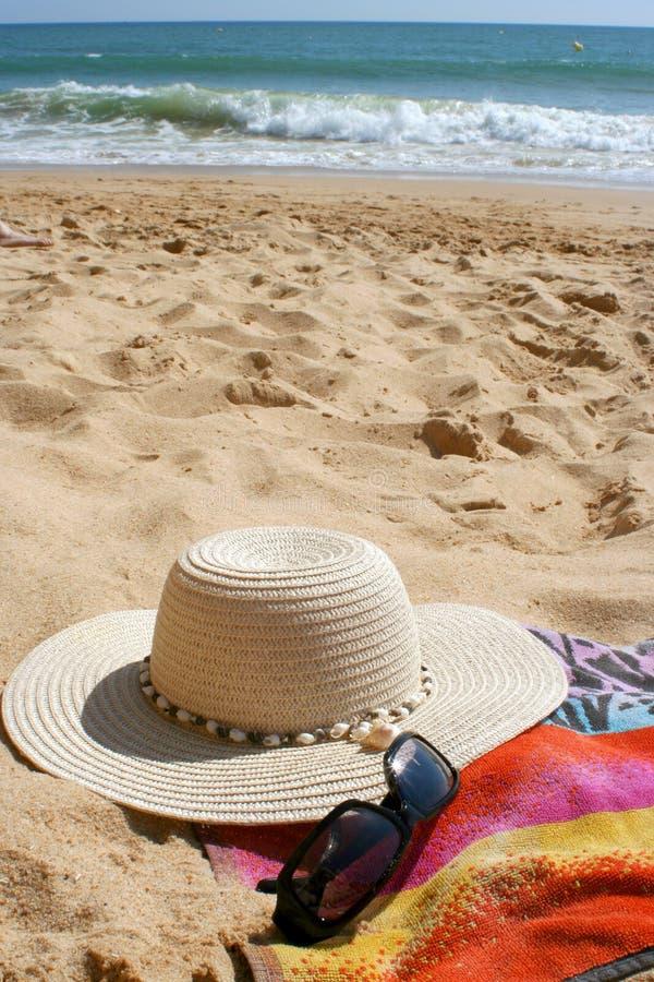 De punten van het strand royalty-vrije stock afbeelding