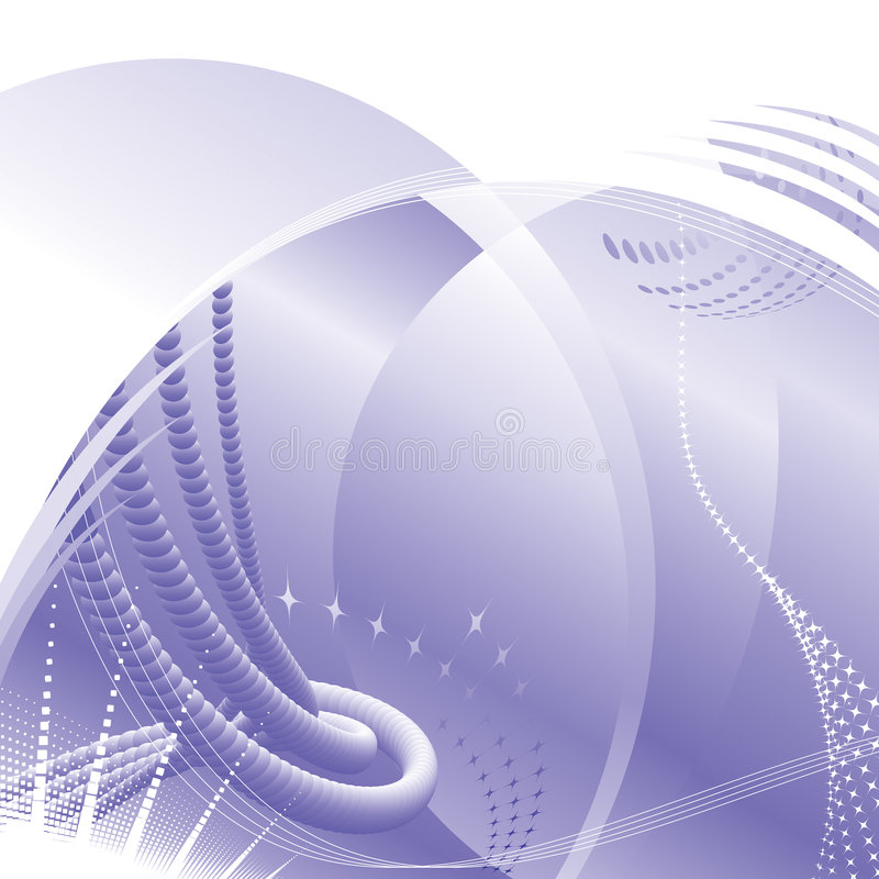 De purpere achtergrond van Technologie vector illustratie