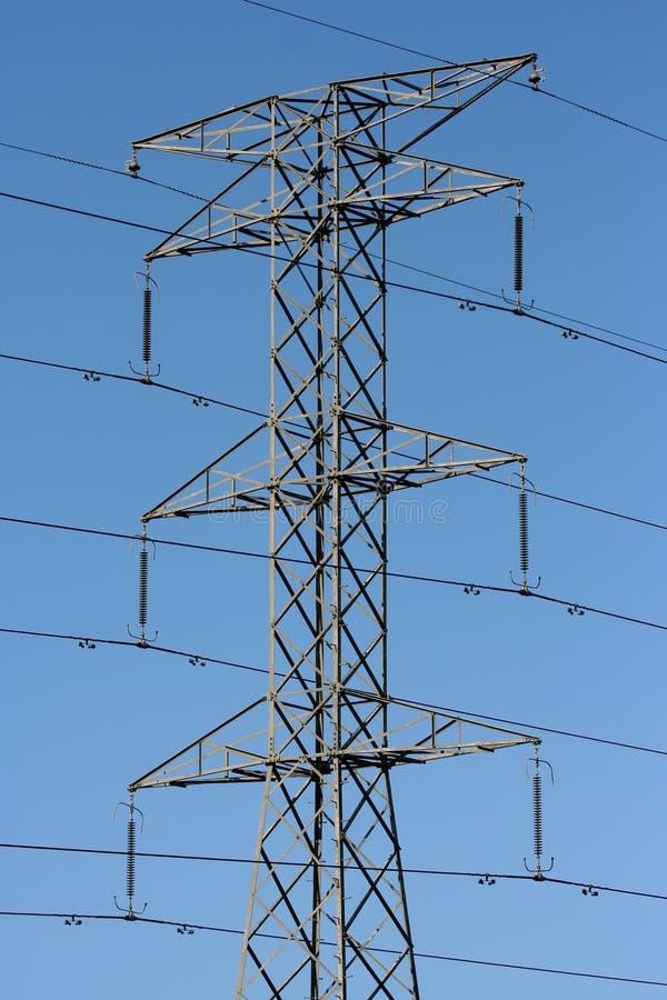 Download De Pyloon Van De Elektriciteit Stock Afbeelding - Afbeelding bestaande uit volt, huidig: 10782791