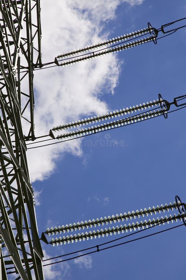 De pyloon van de energie stock fotografie