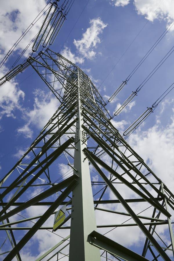 De pyloon van de energie stock afbeelding