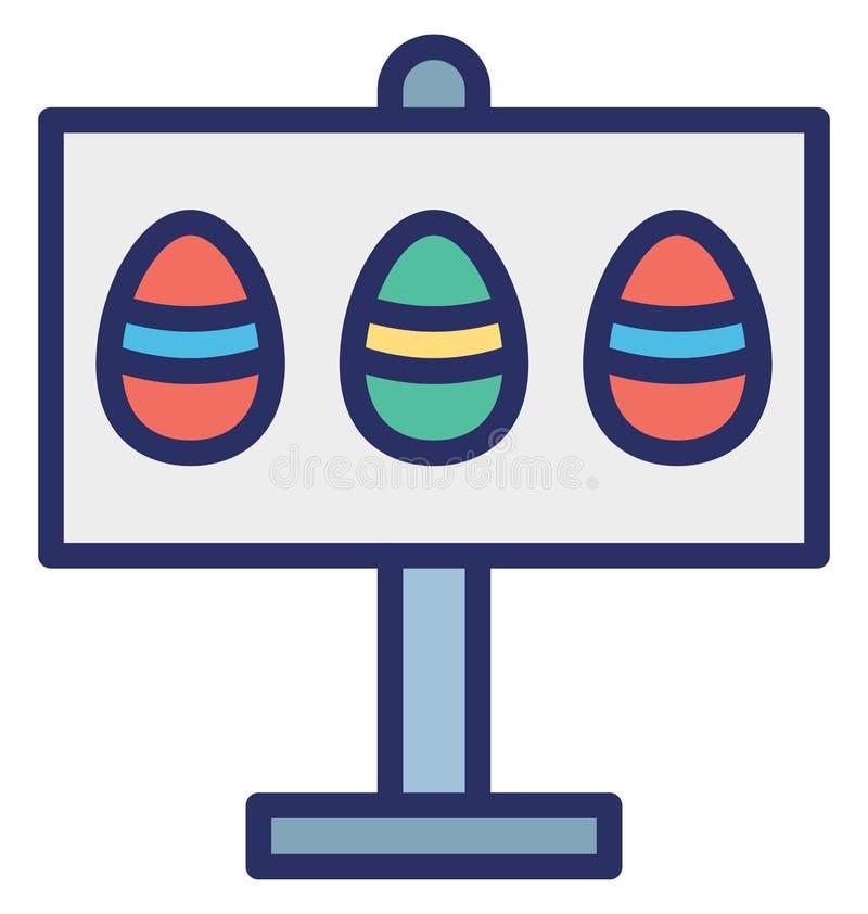 De raad, Pasen, Pasen-raad isoleerde Vectorpictogram dat zich gemakkelijk kan wijzigen of uitgeven vector illustratie