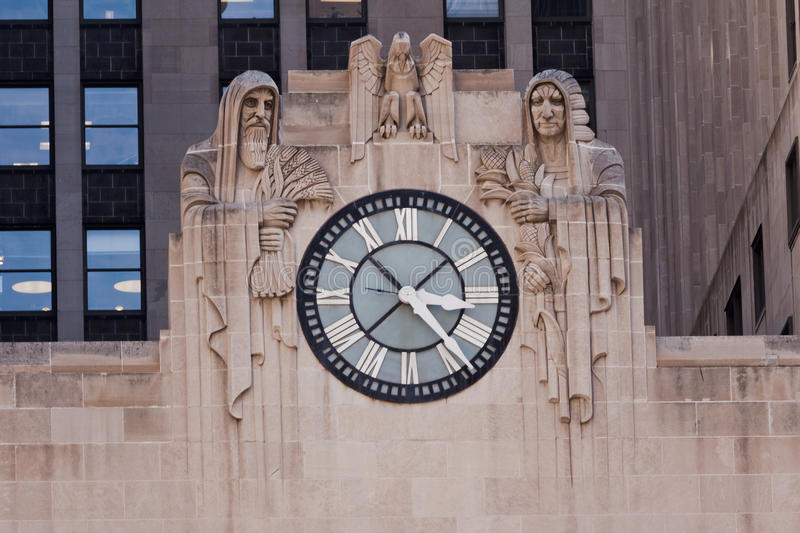 De Raad van Chicago van Handel stock afbeelding