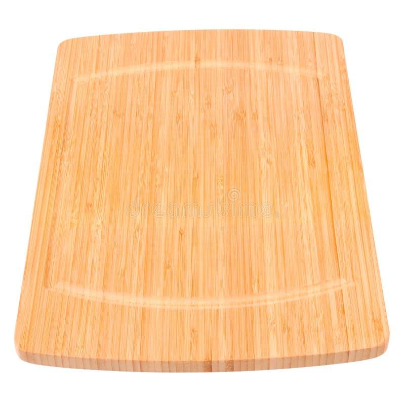 De raad van de bamboekeuken stock fotografie