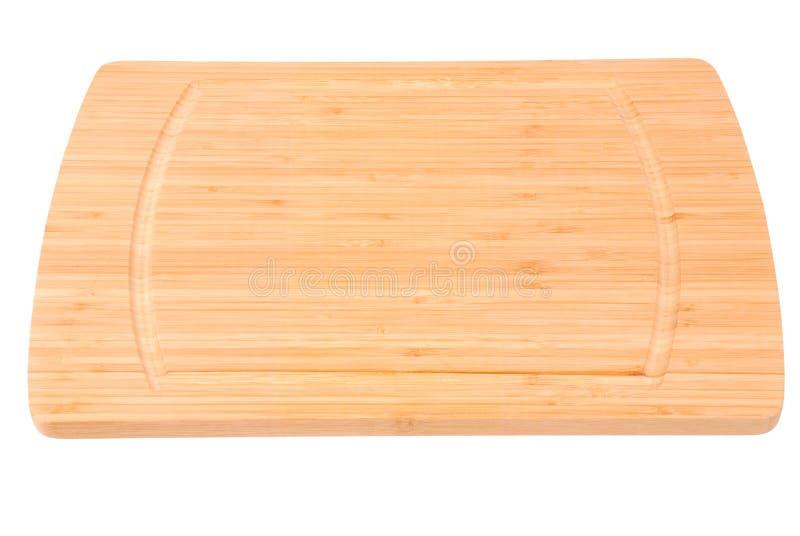 De raad van de bamboekeuken royalty-vrije stock afbeeldingen