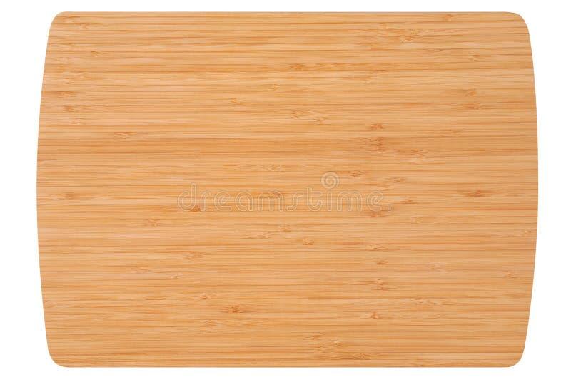 De raad van de bamboekeuken royalty-vrije stock foto