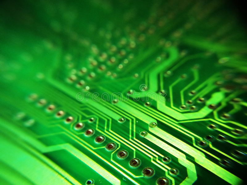 De raad van de elektronika stock fotografie