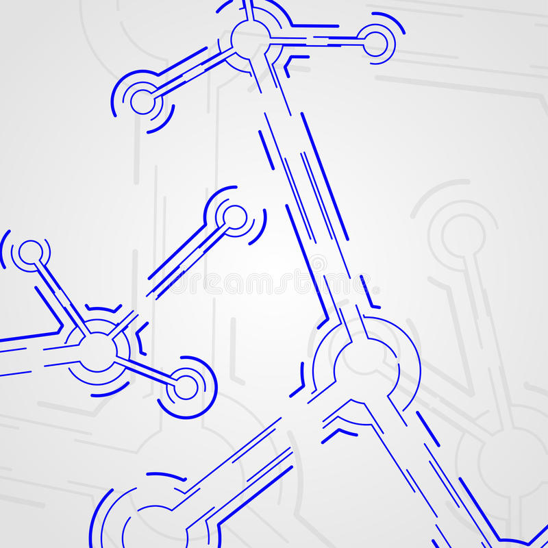 De raad van de kring vector illustratie