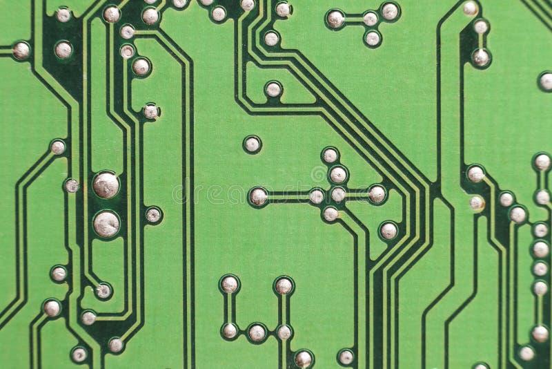 De raad van de kring De technologie van de elektronische computerhardware Motherbo stock fotografie
