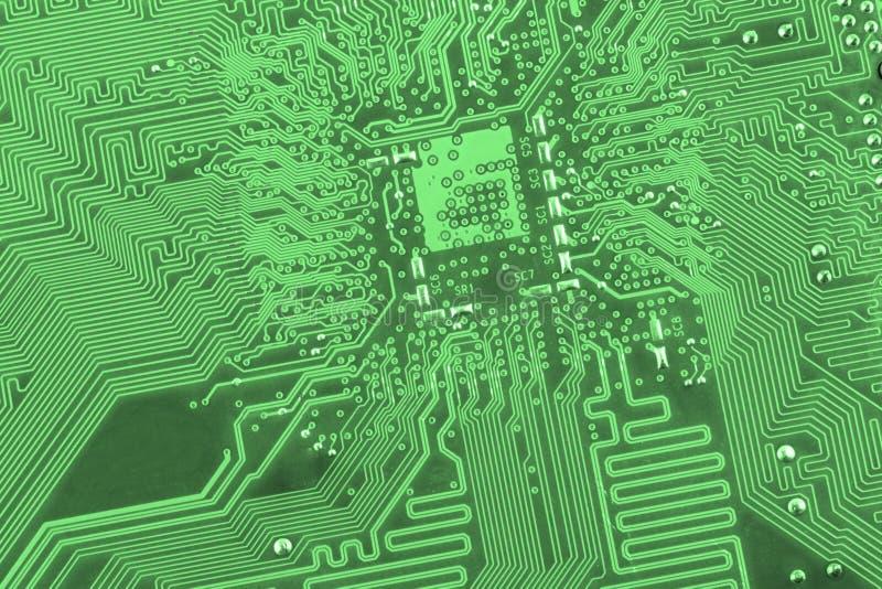 De raad van de kring De technologie van de elektronische computerhardware Motherboard digitale spaander Technologie-wetenschapsac royalty-vrije stock foto's
