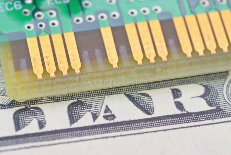 De raad van de kring - ElektroComponent royalty-vrije stock foto
