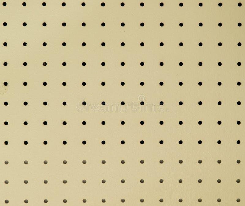 De raad van de pin of van de plafondraad textuur stock foto