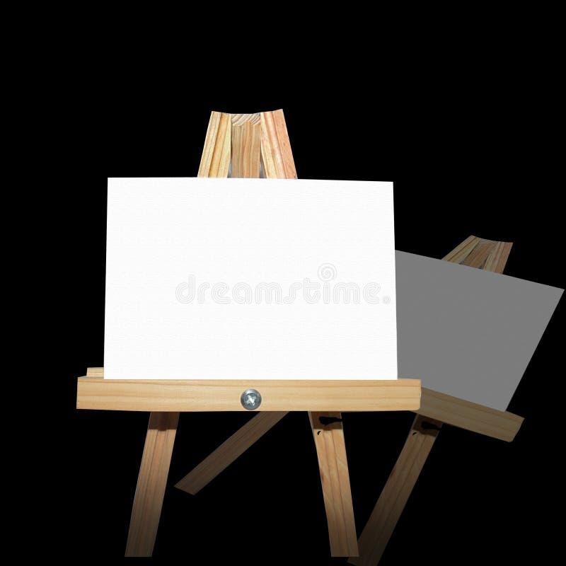De Raad van het bericht op Schildersezel royalty-vrije stock afbeelding