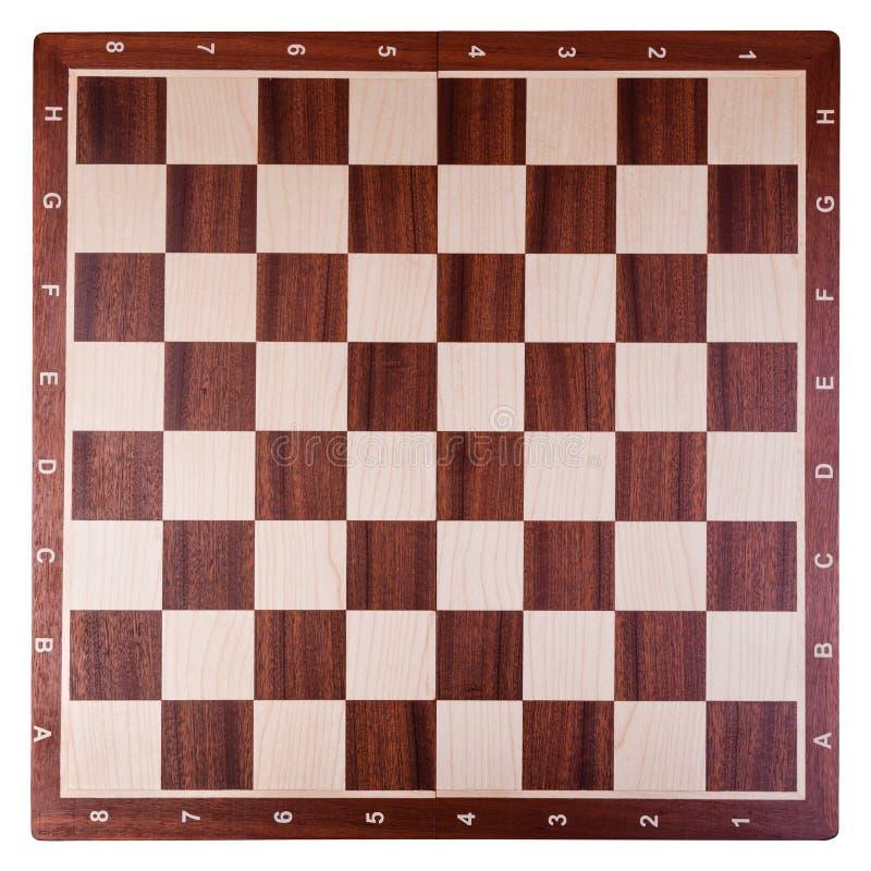 De raad van het schaak royalty-vrije stock fotografie