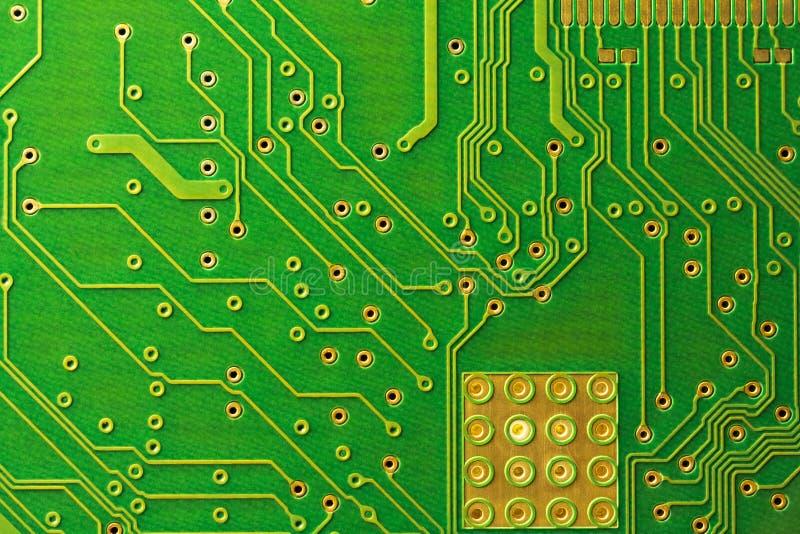 De raad van de kring De technologie van de elektronische computerhardware Technologie-wetenschapsachtergrond royalty-vrije stock foto's
