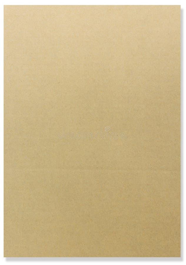 De raadsverticaal van de pakpapierkaart royalty-vrije stock foto's